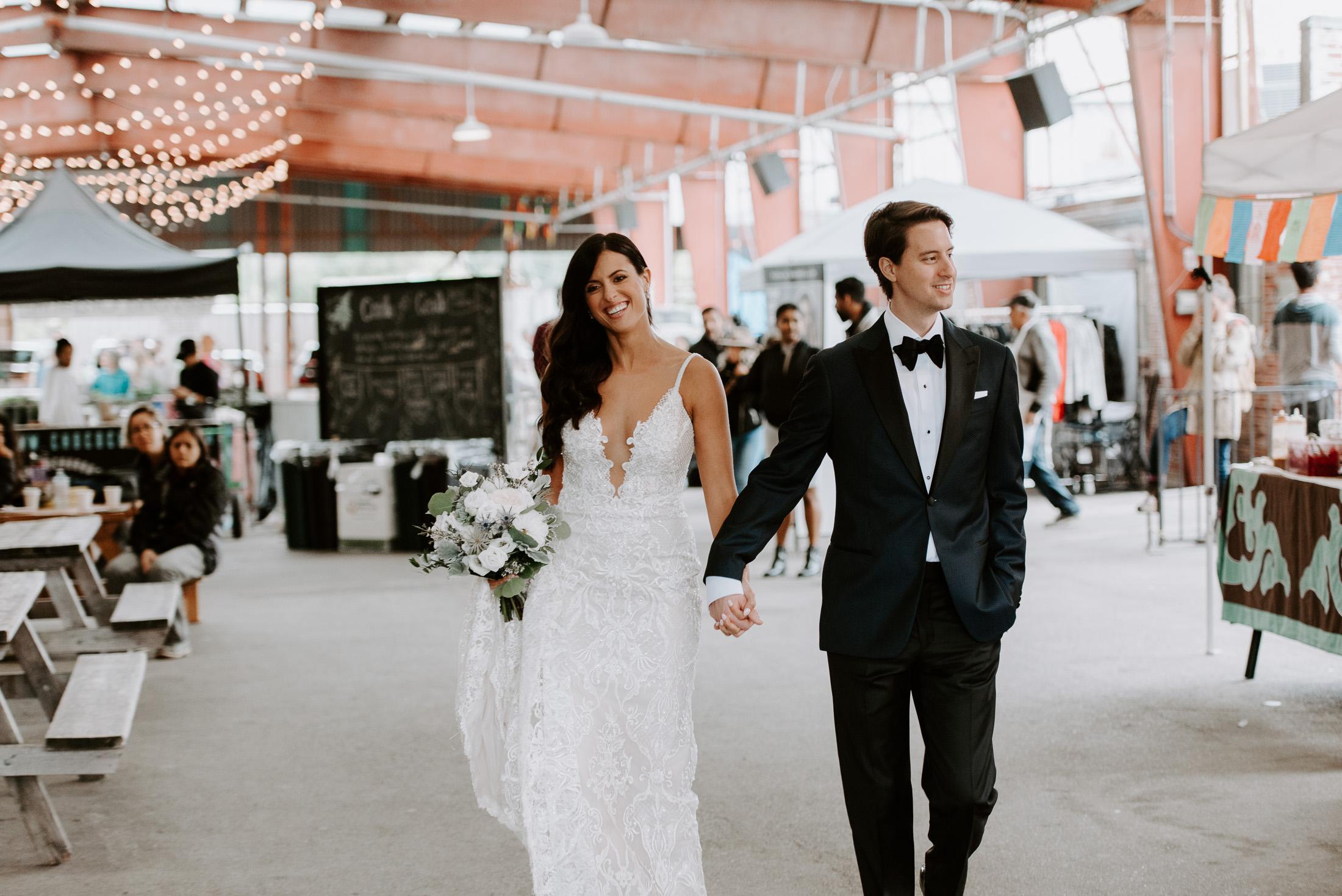 Evergreen Brickworks Wedding in Toronto