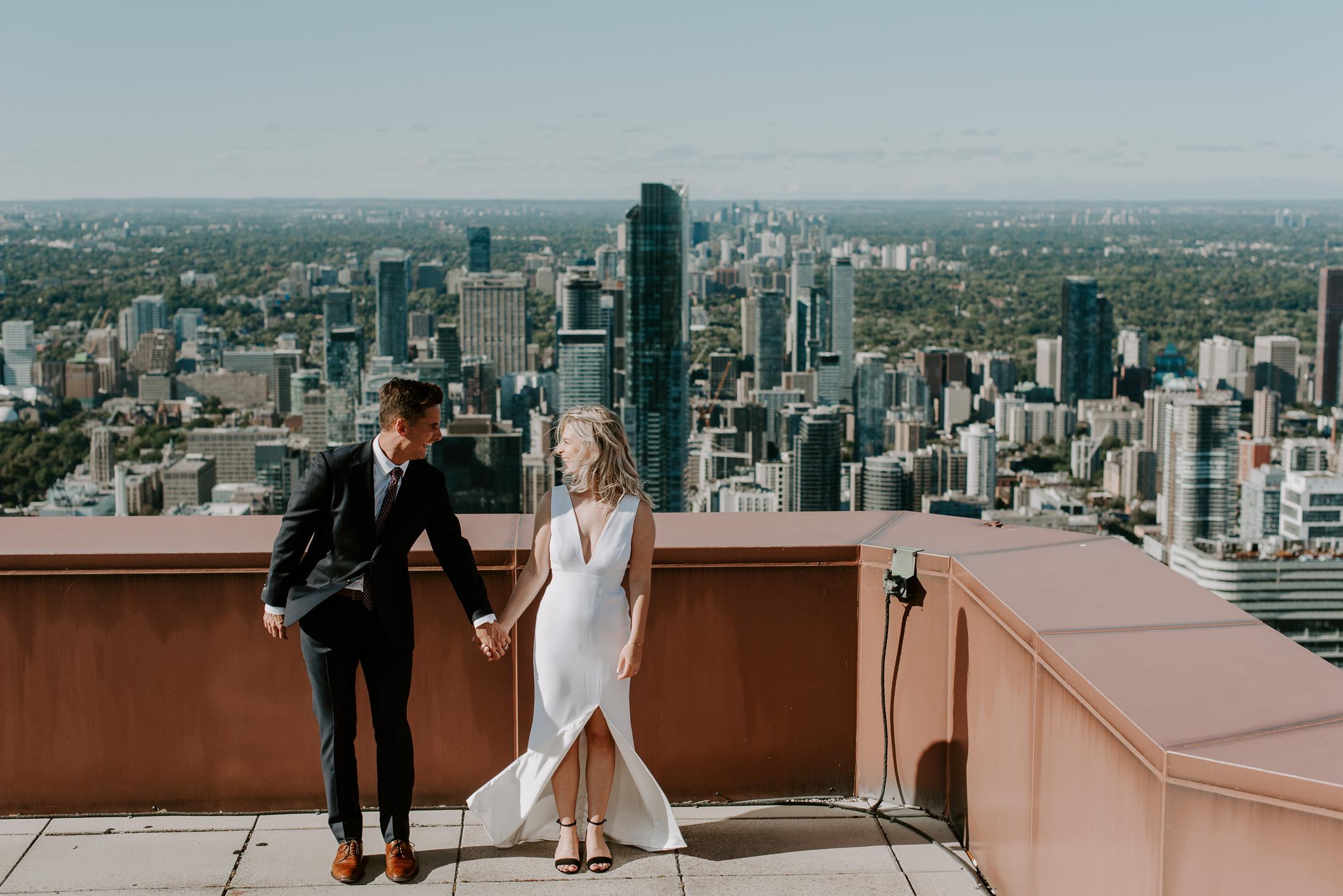 Scotiaplaza Wedding Ceremony Toronto