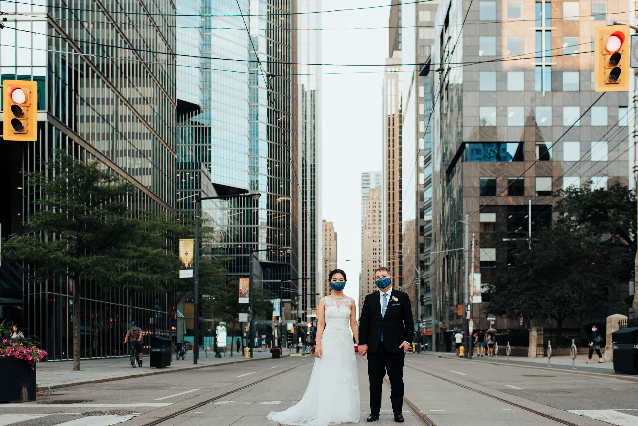 Downtown Toronto Wedding during the pandemic